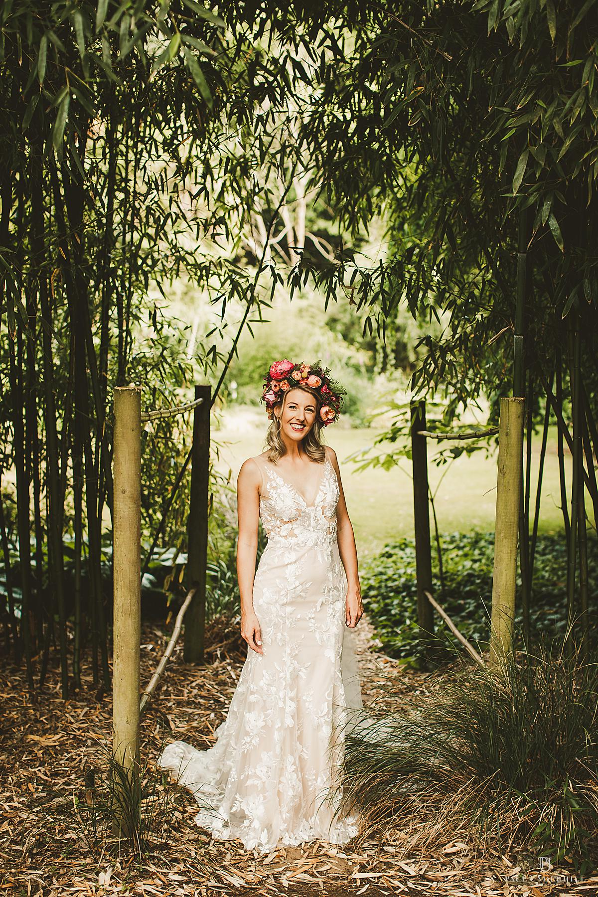 Abbotsbury Subtropical Gardens wedding photography