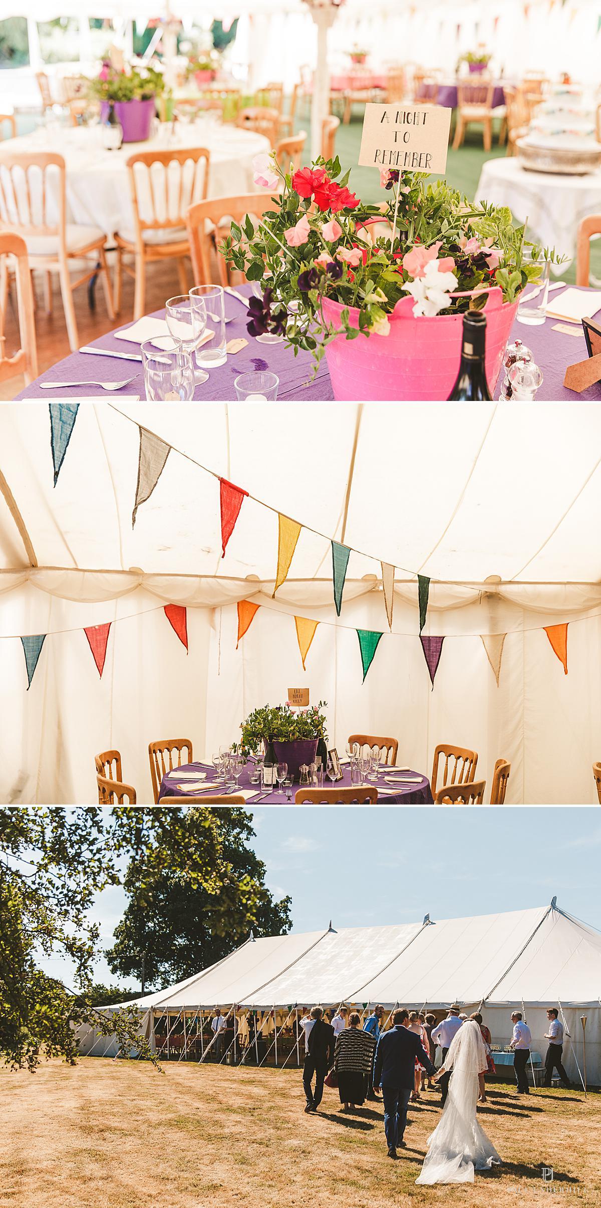 DIY village fate themed wedding Dorset