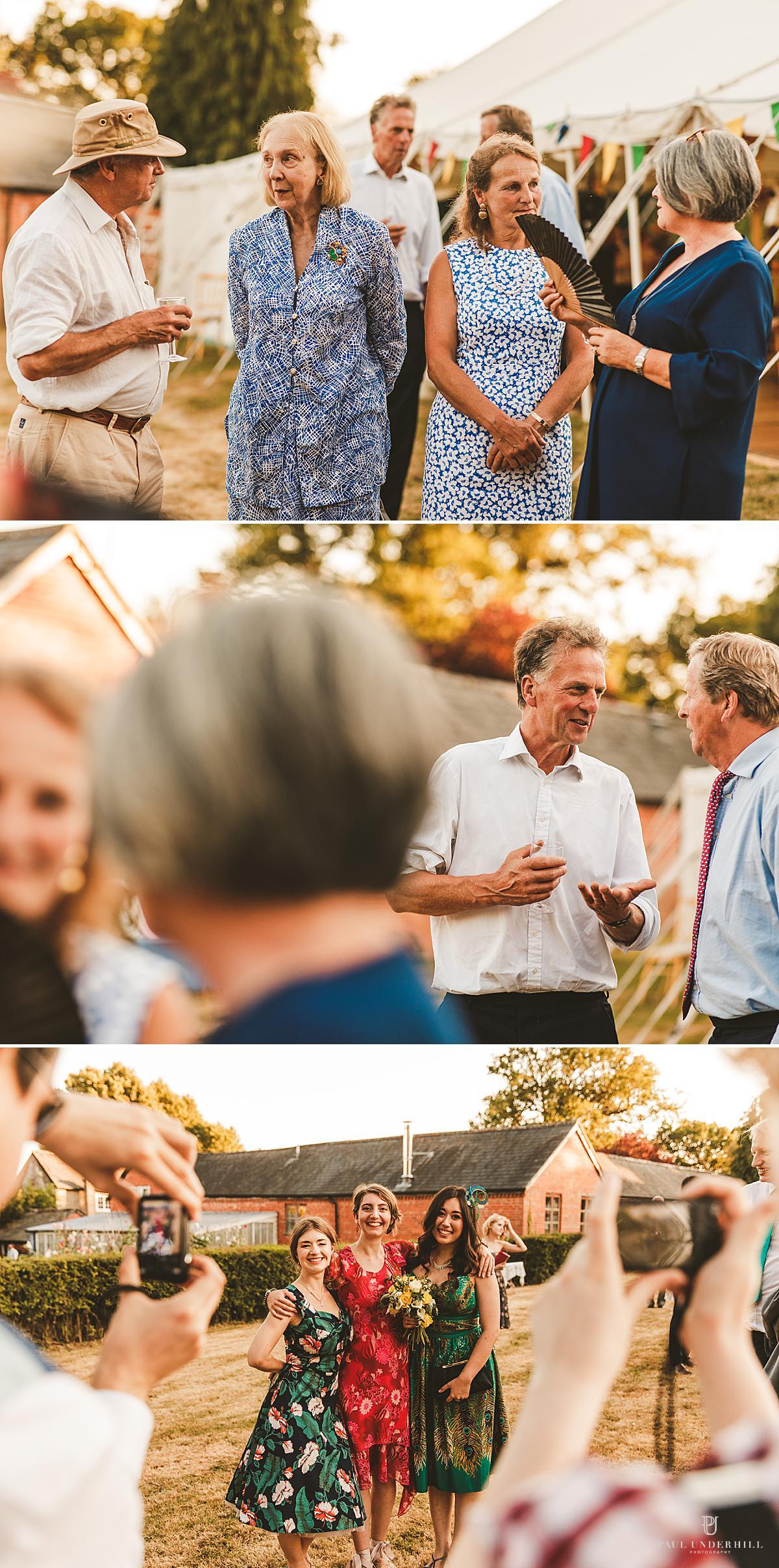 Documentary wedding photographers Dorset