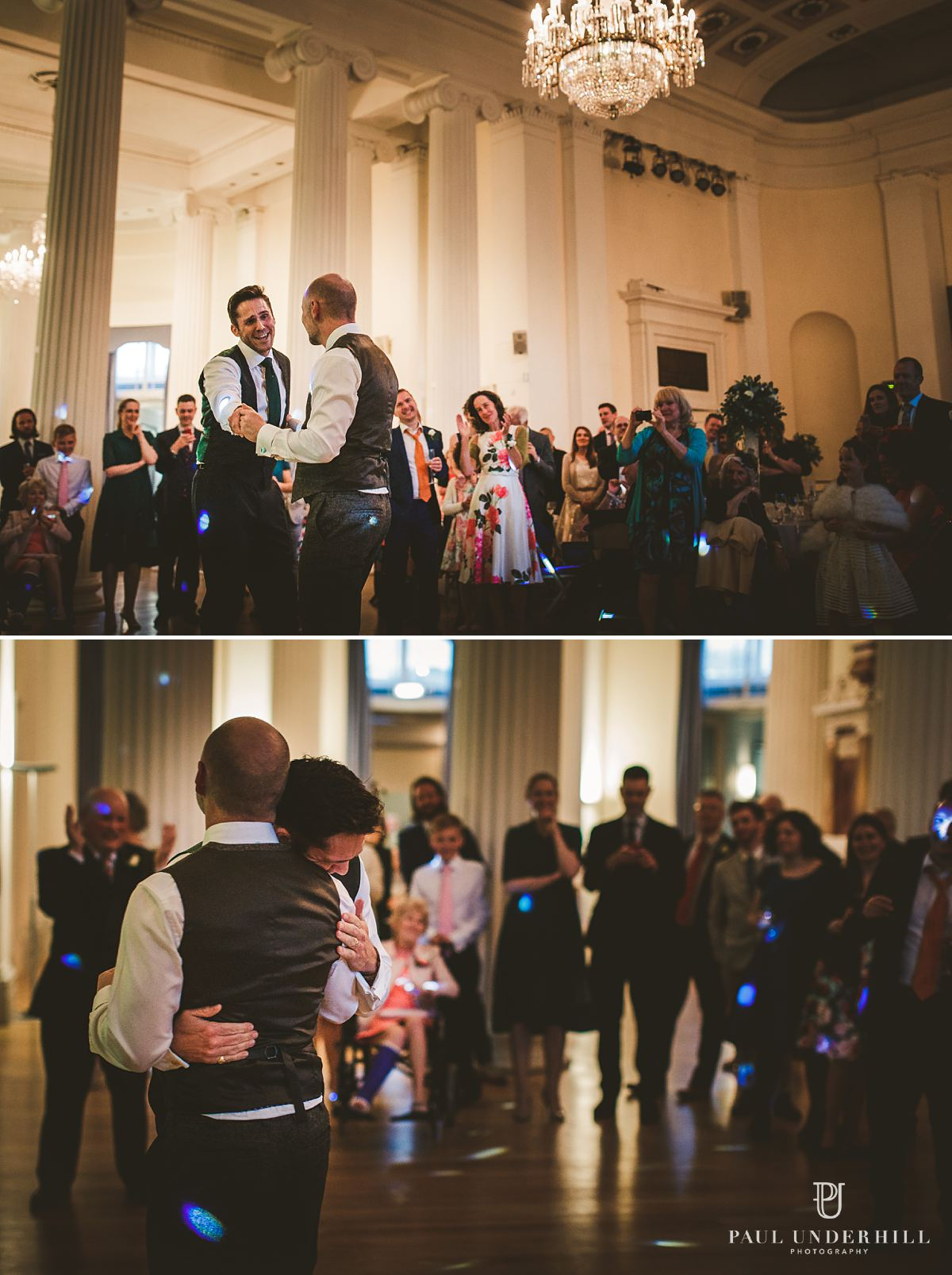 First dance gay wedding photography