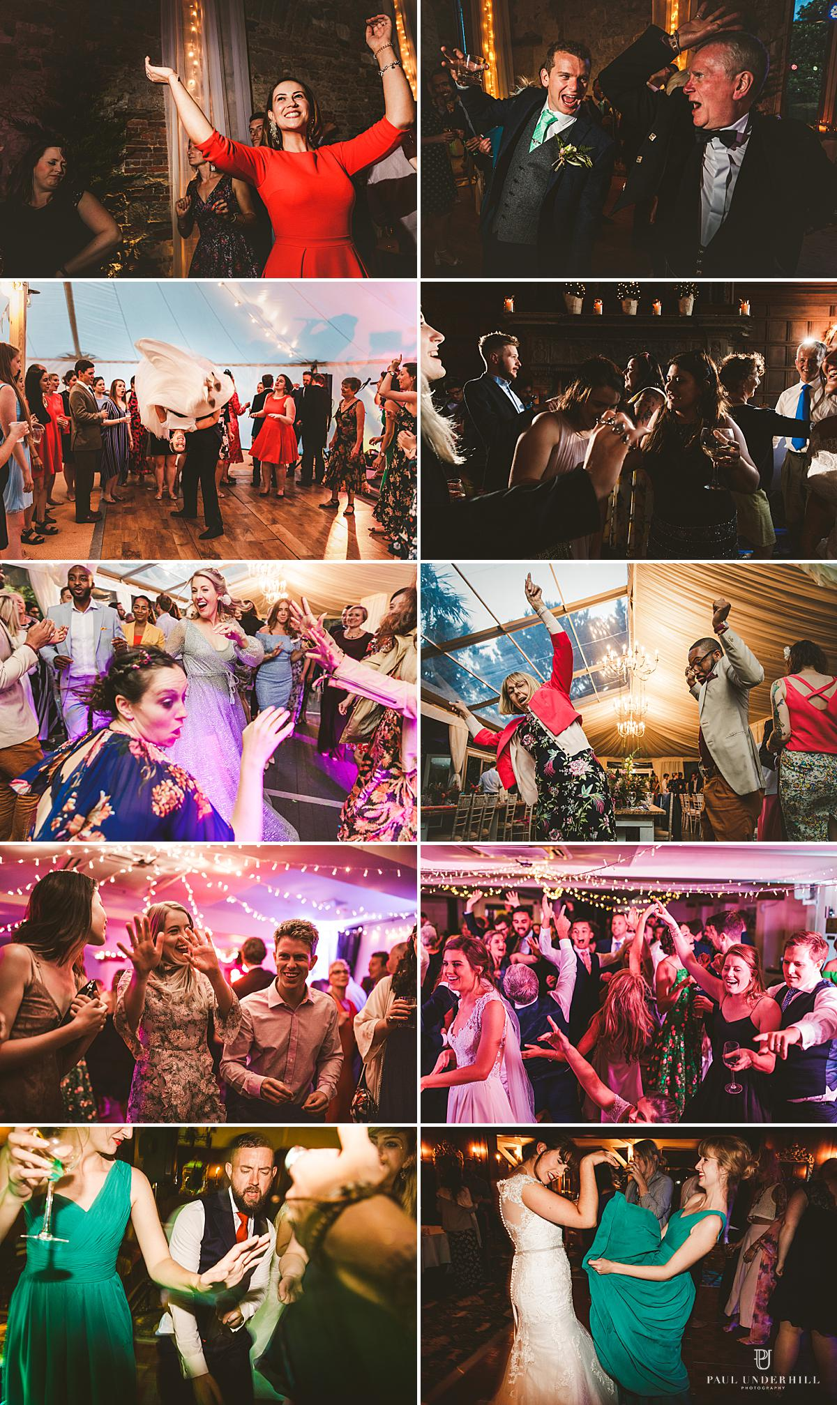 Fun party moments wedding photography