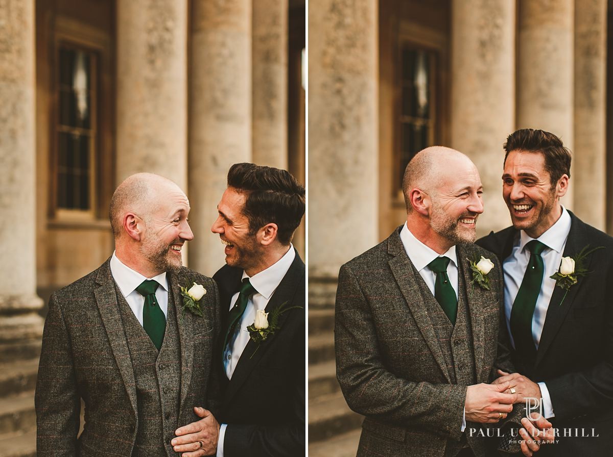 Gay wedding photography portraits