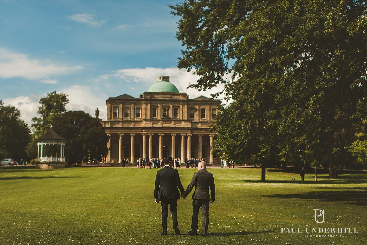 Gay wedding portraits London photographers