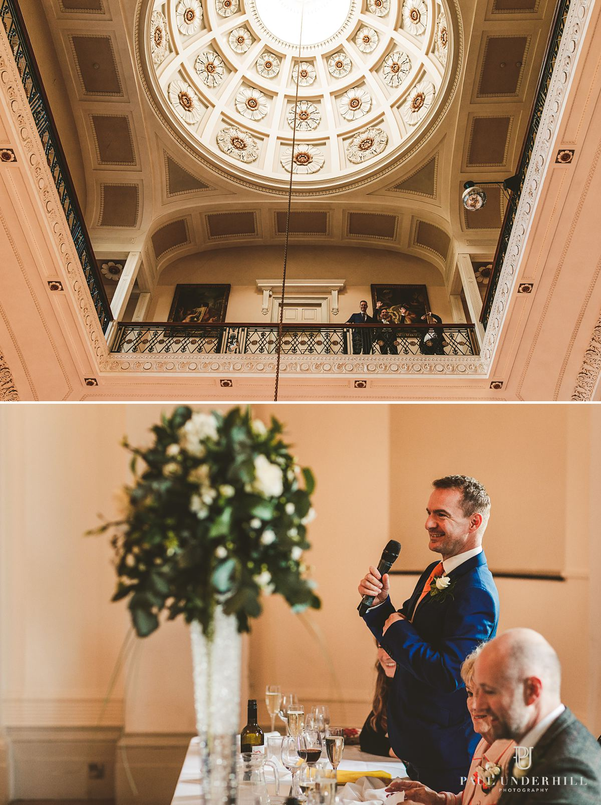 Gay wedding reception photography