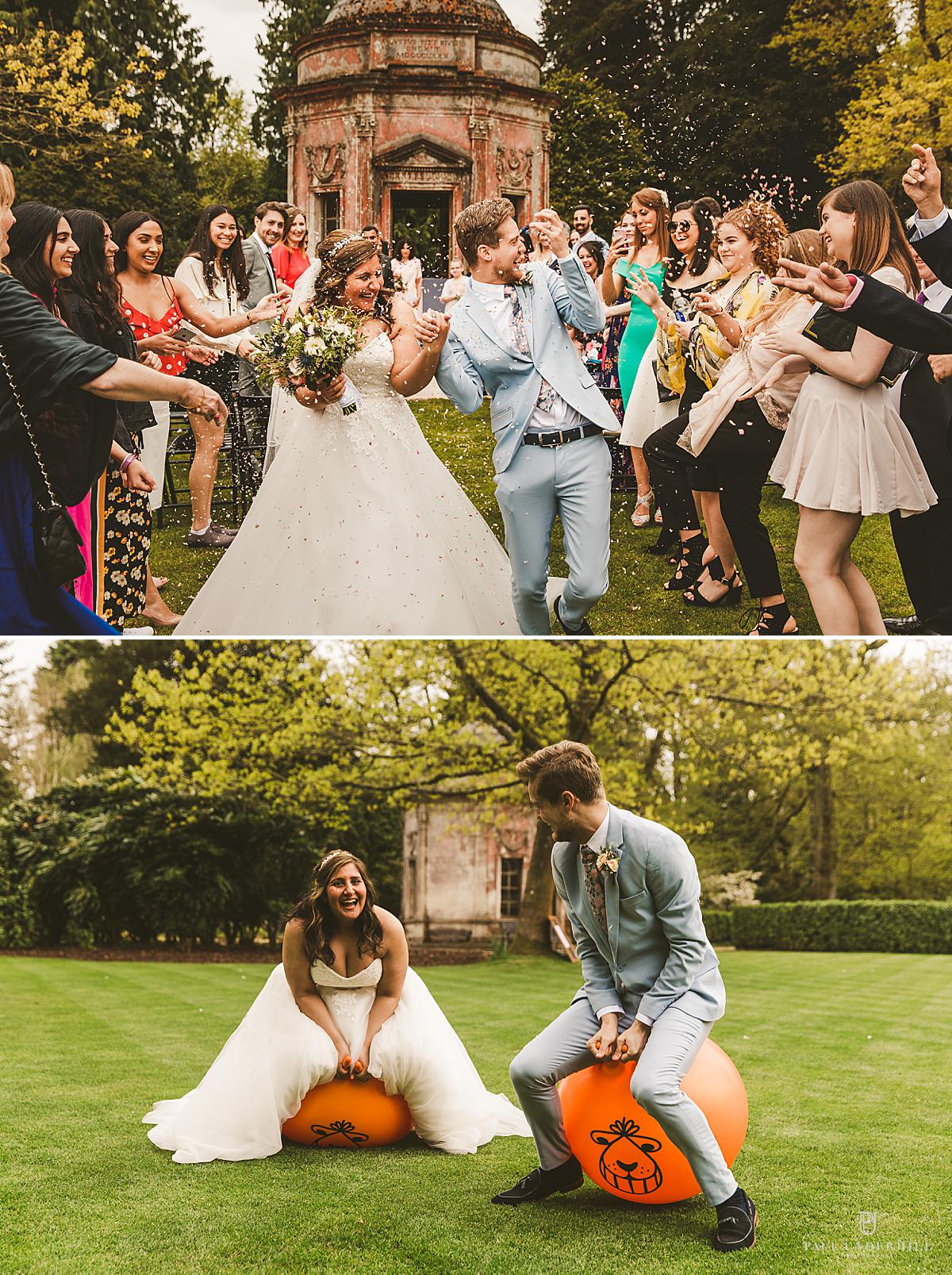 Larmer Tree Gardens wedding photography