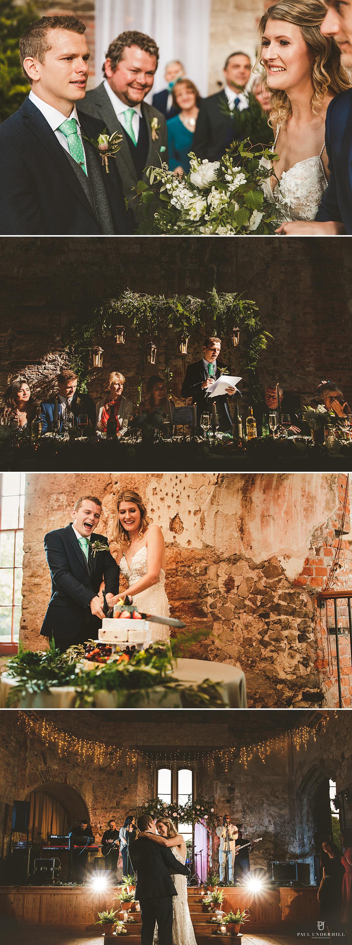Lulworth Castle wedding photography Dorset
