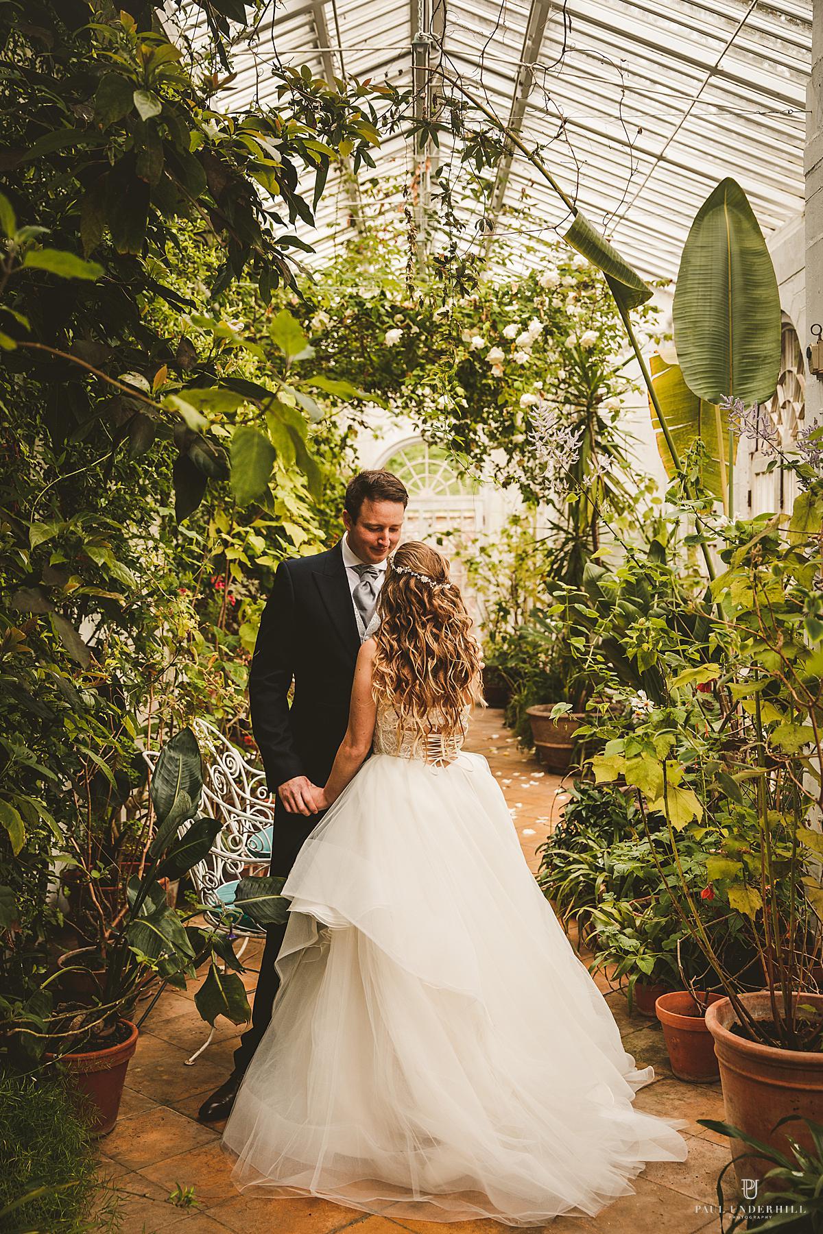 Mapperton Gardens wedding Dorset
