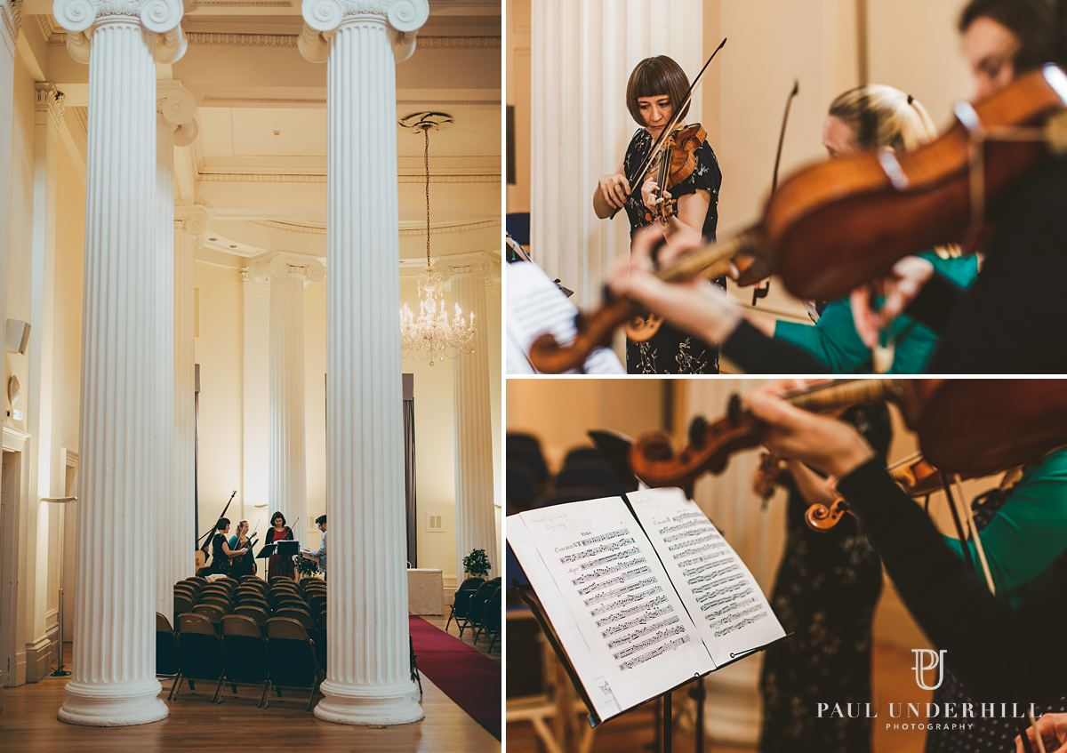 Pittville Pump Room wedding photography