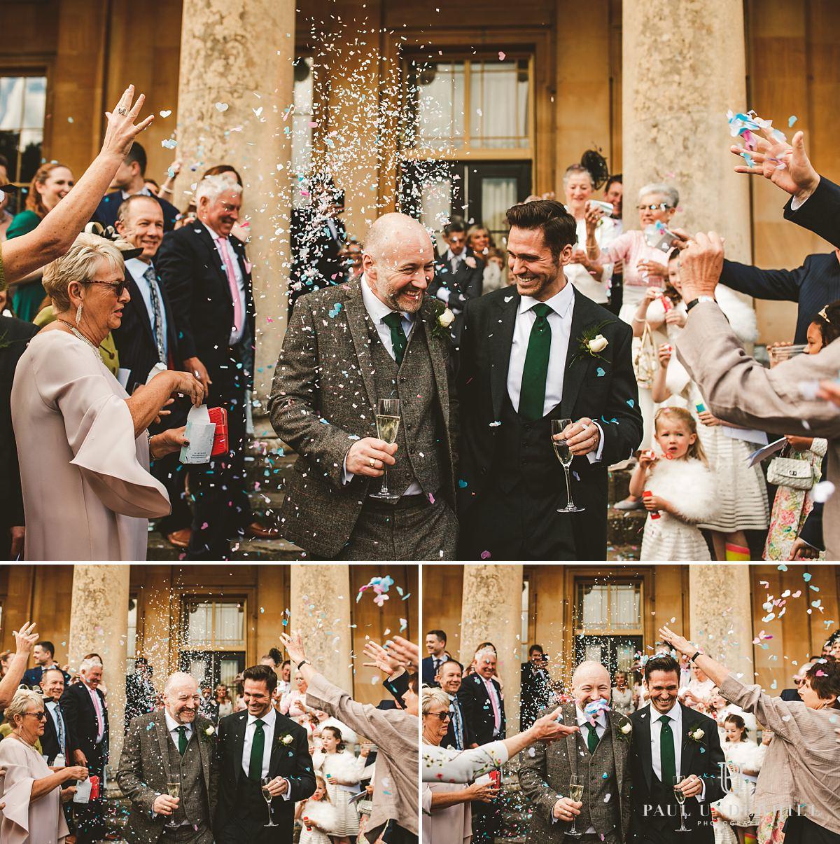 Same-sex gay wedding documentary photography