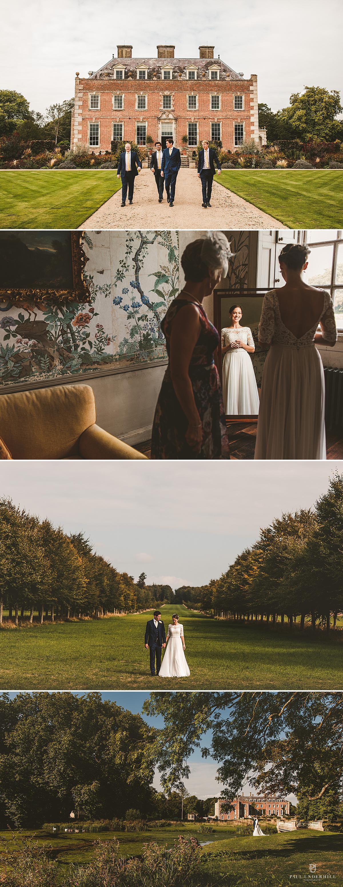 St Giles House wedding photography Dorset