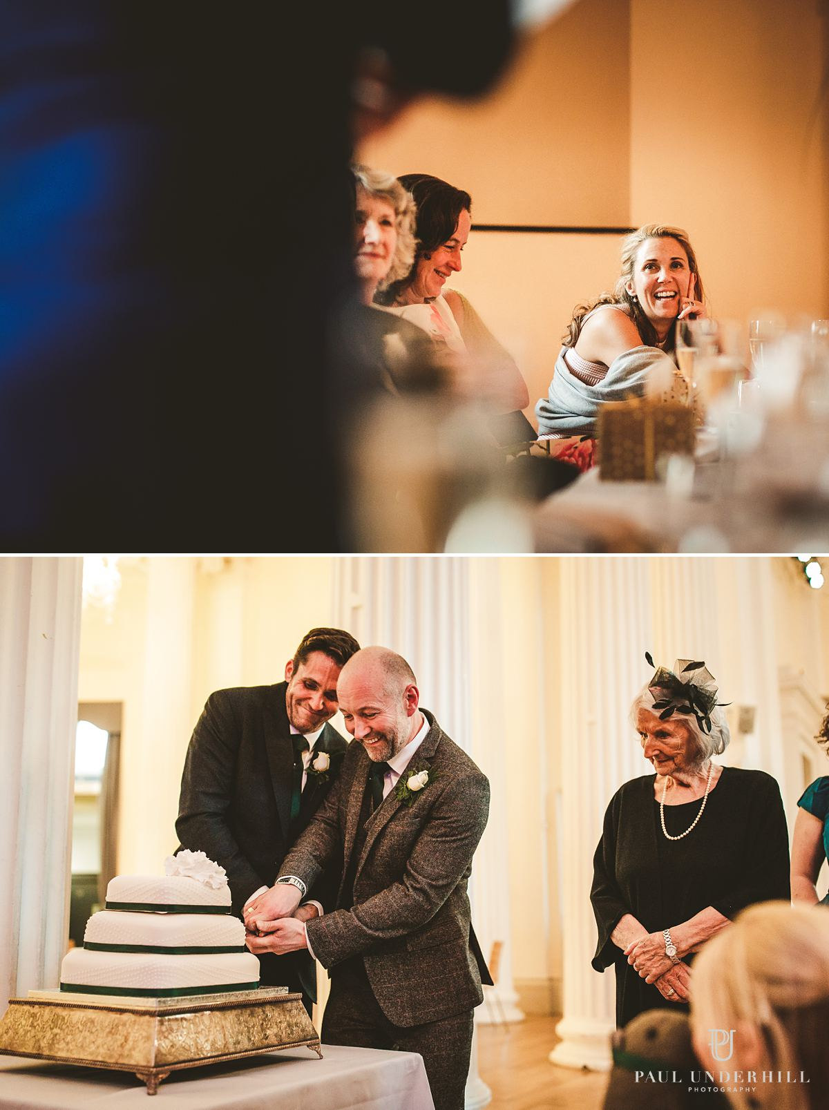 Wedding documentary photography speeches