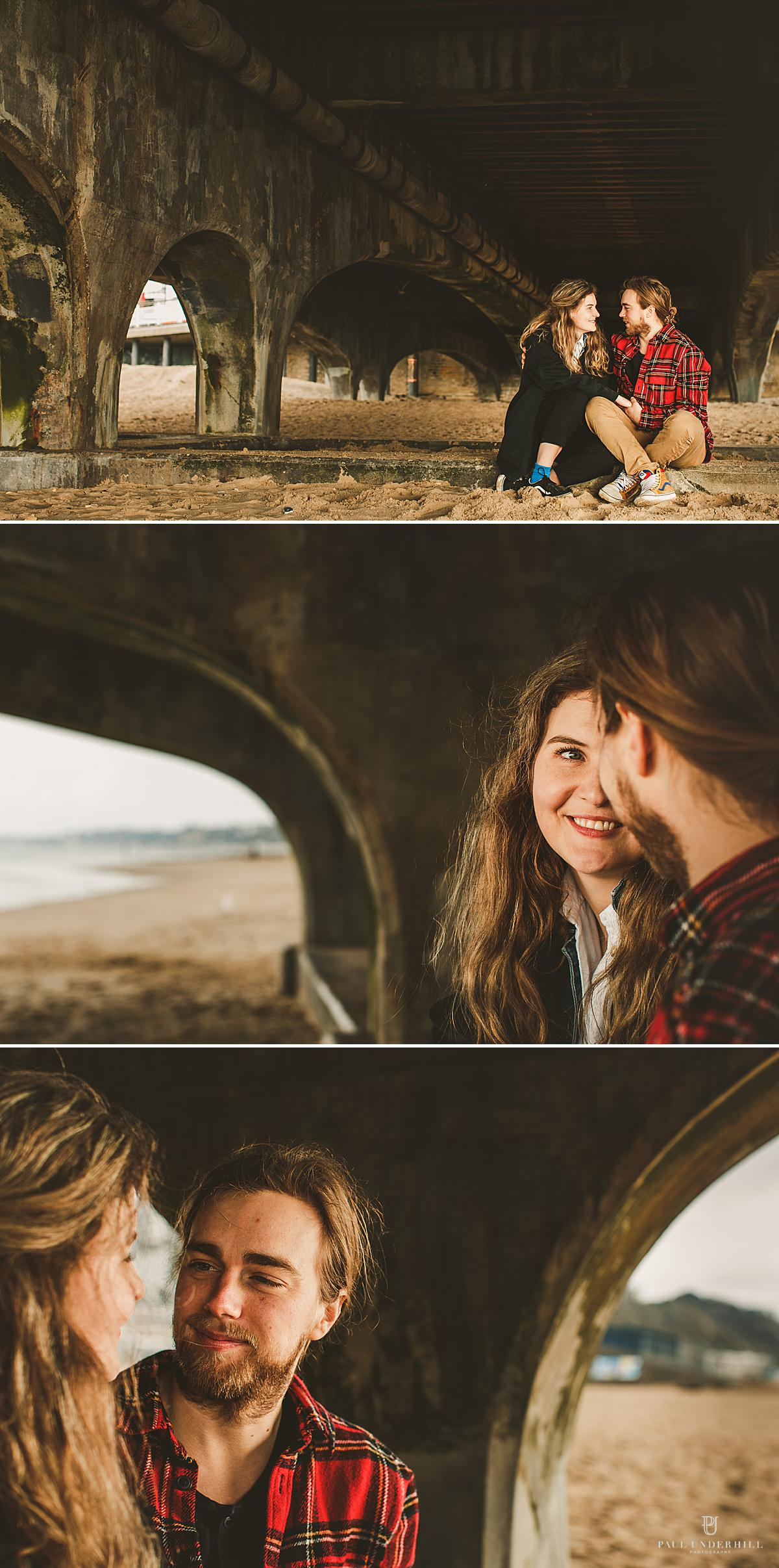 Creative couples photography Bournemouth