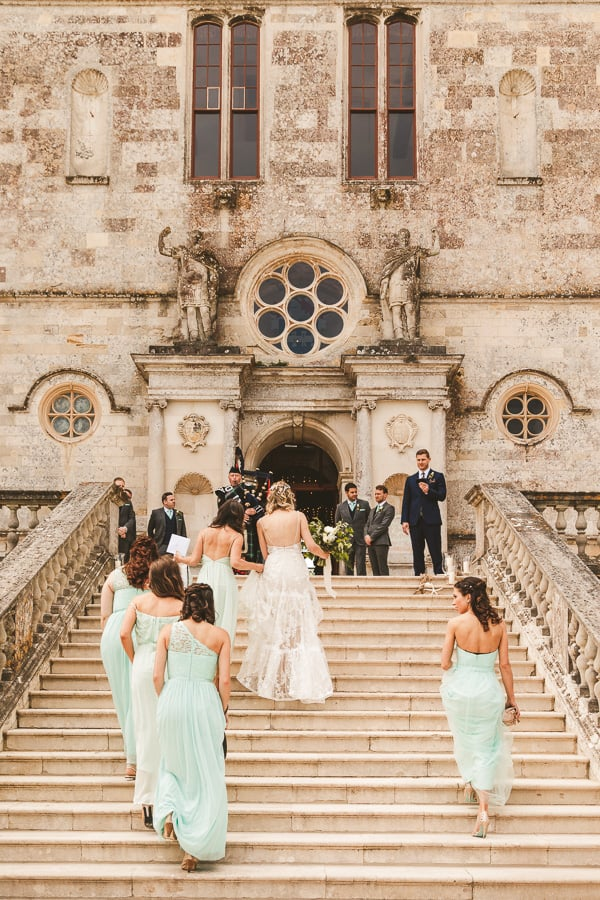 Lulworth Castle wedding photographers Dorset