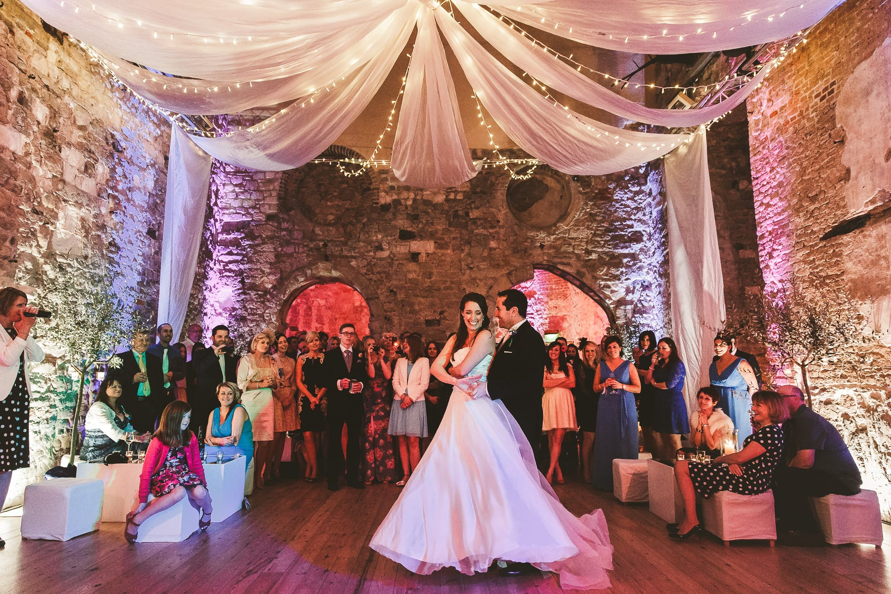First-dance-Lulworth-Castle-wedding-photography