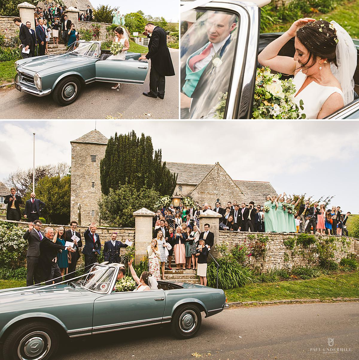 Confetti fun moments wedding photography