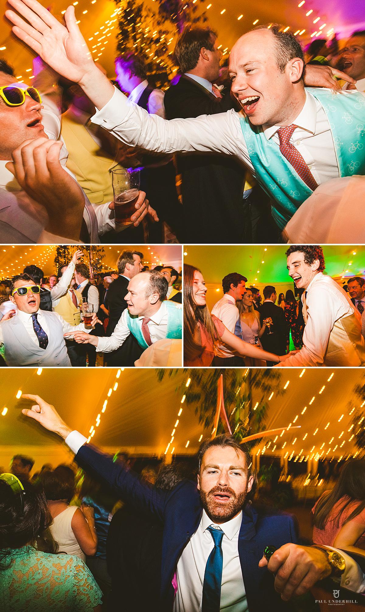Late night low light wedding photography