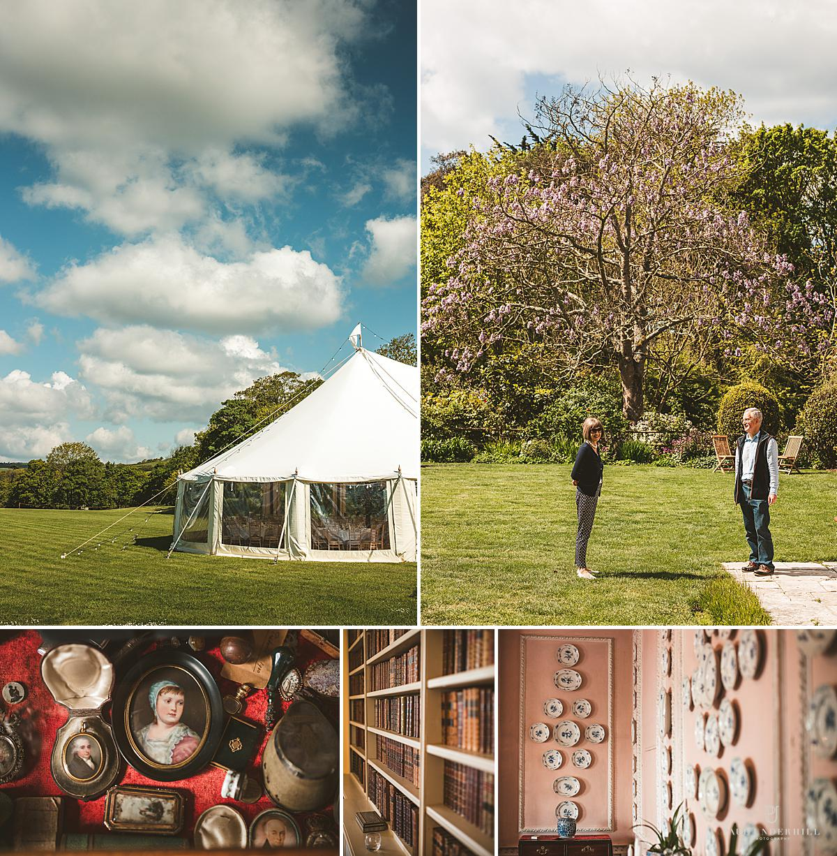 Smedmore House wedding photography Dorset
