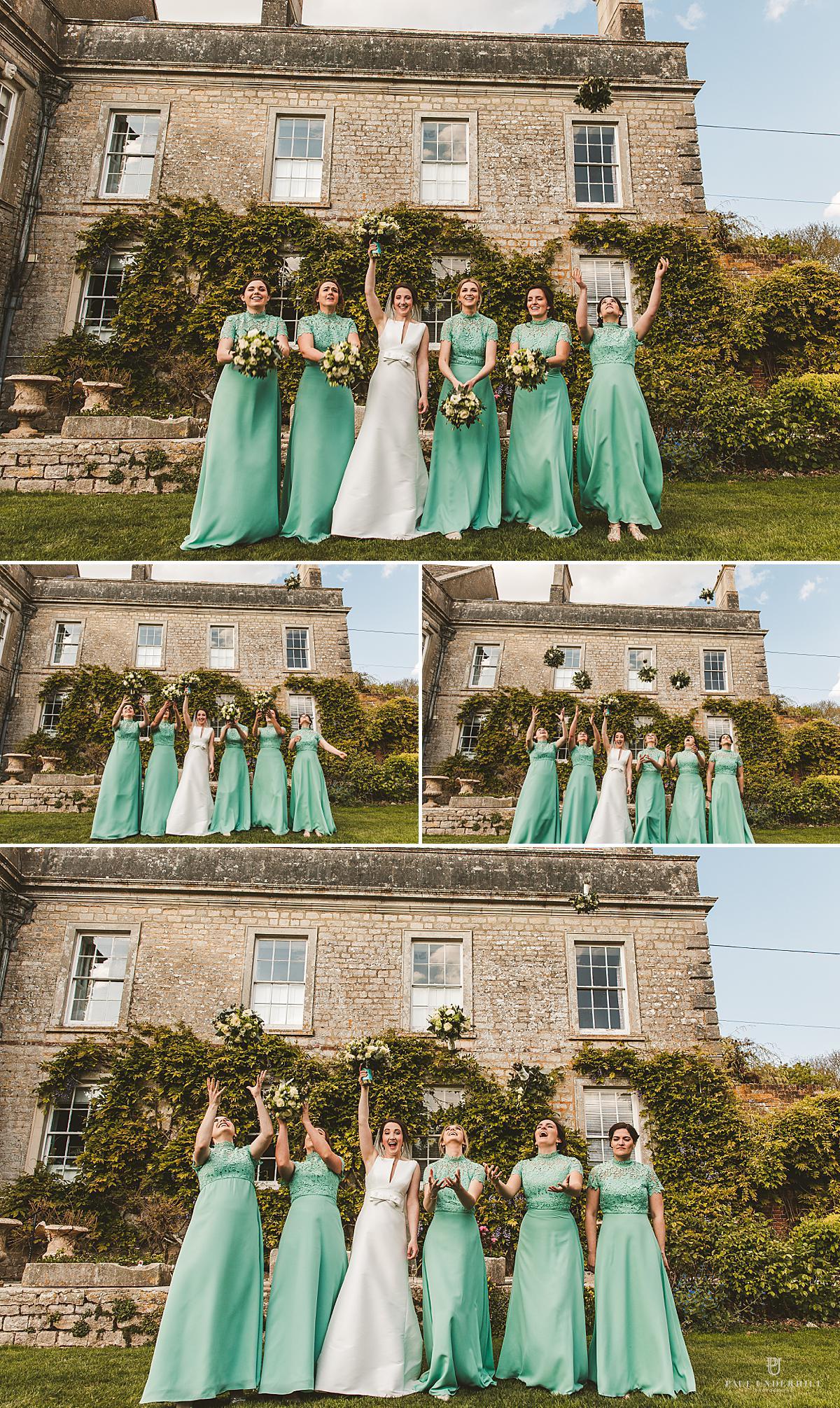 Wedding portraits Smedmore House Dorset