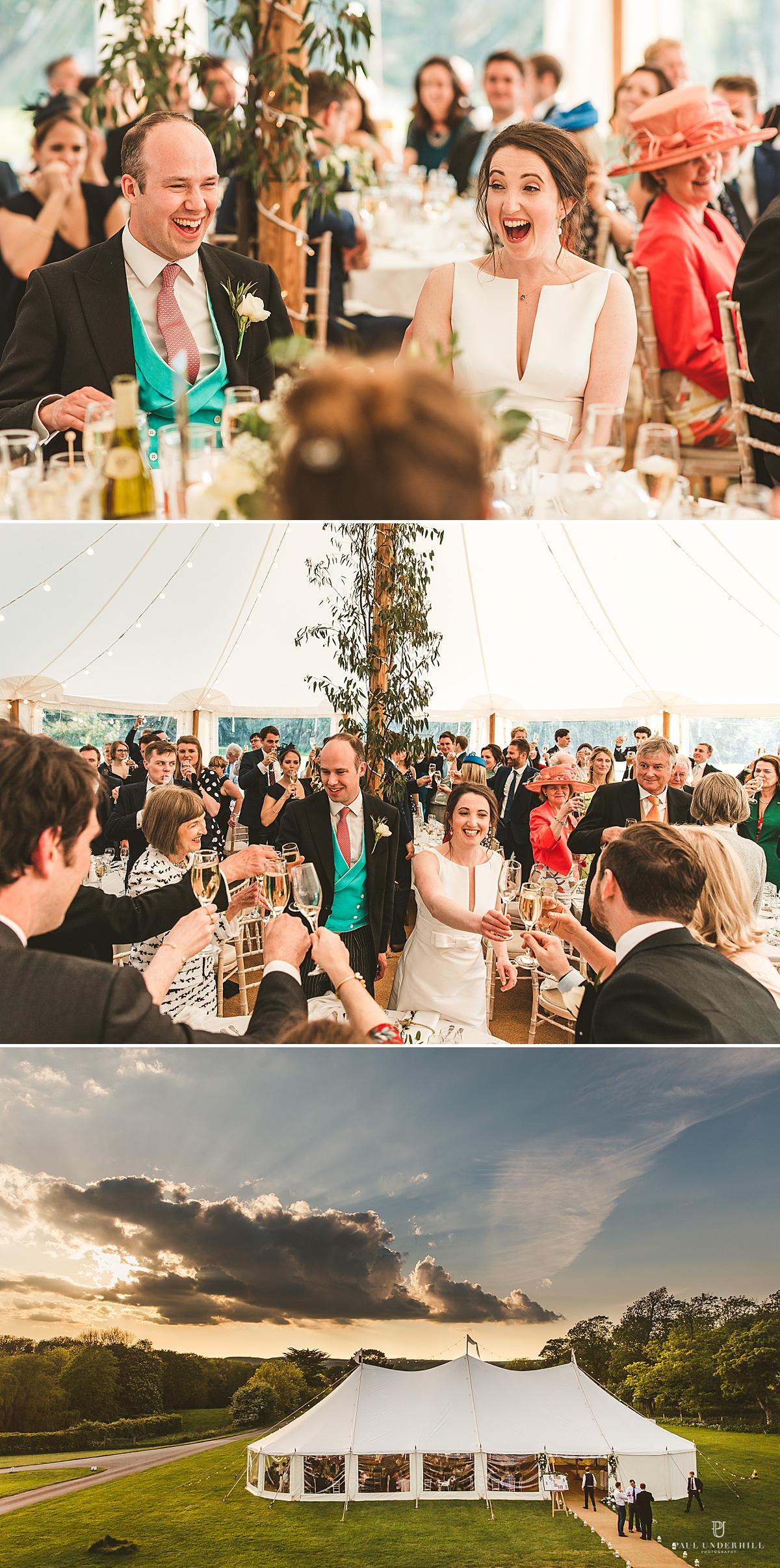 Wedding speeches Smedmore House