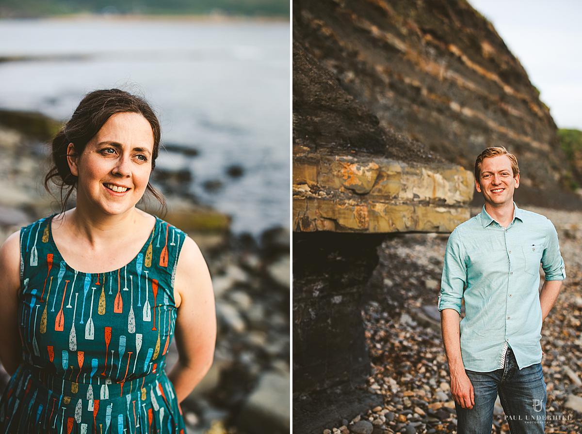 Creative couples portraits Dorset photographer