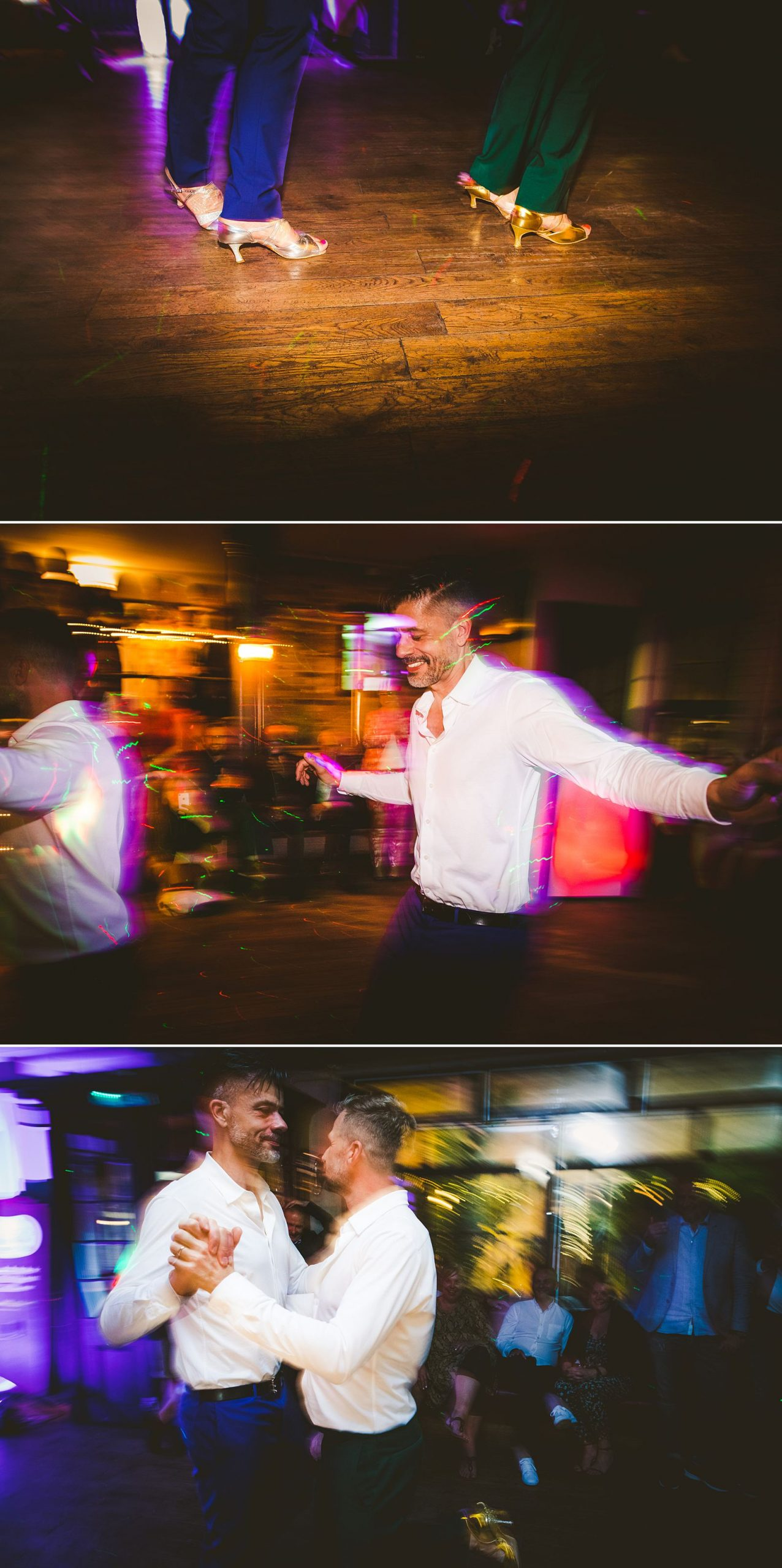Gay couple first dance London wedding