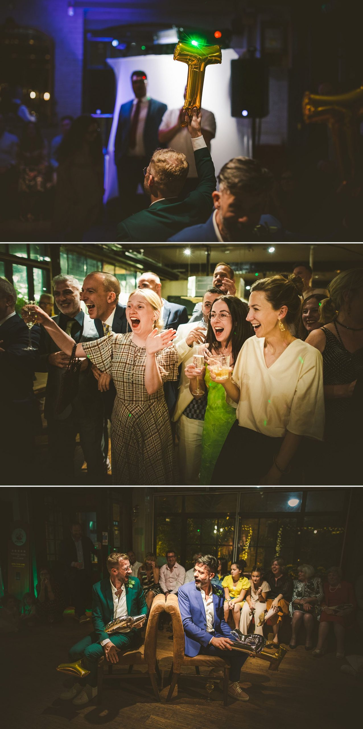 Reportage wedding photography London