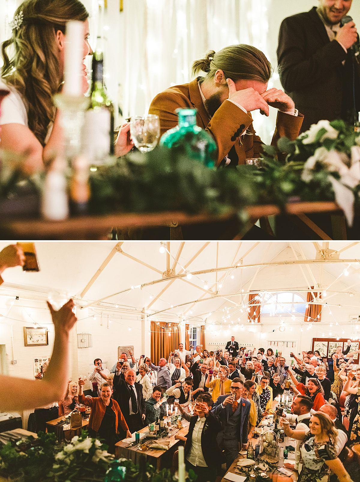 Wedding documentary speeches Bournemouth