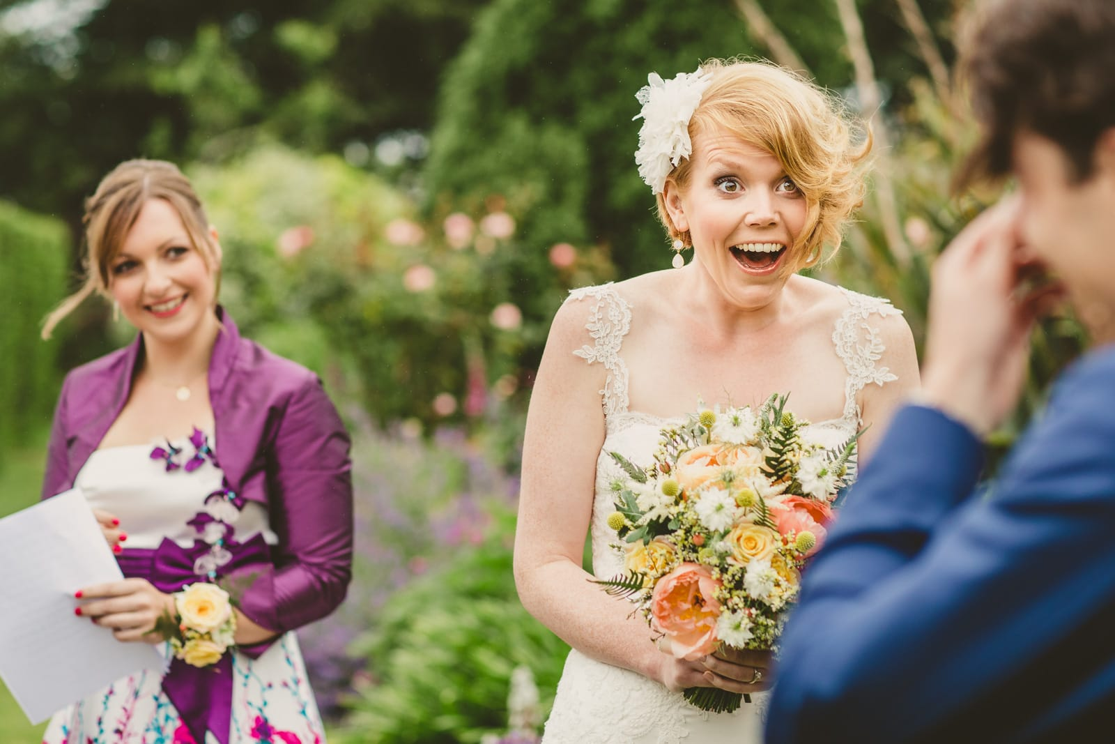 Documentary wedding photography Dorset